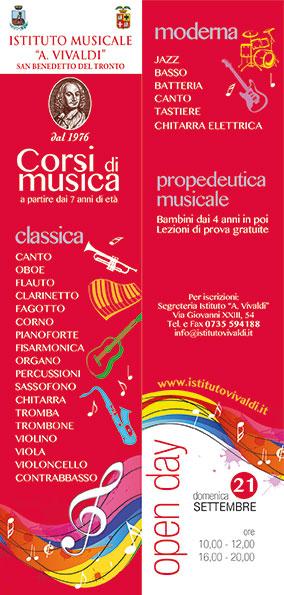Istituto Musicale Antonio Vivaldi, Open day 2014