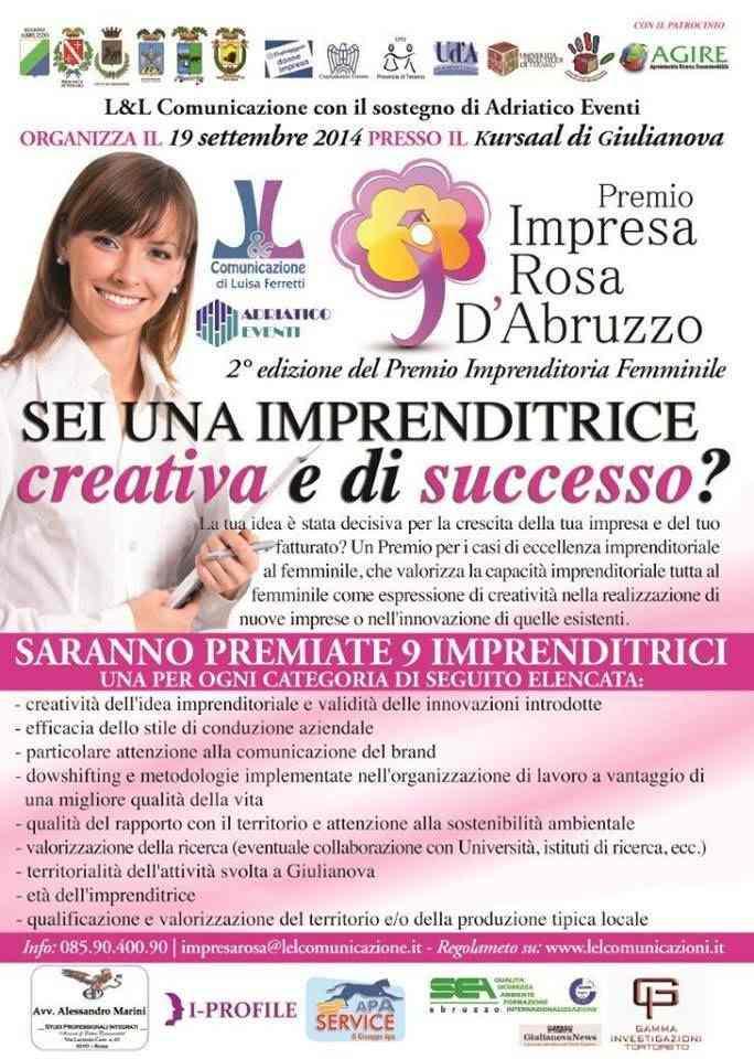 Premio all'Imprenditoria Femminile d'Abruzzo