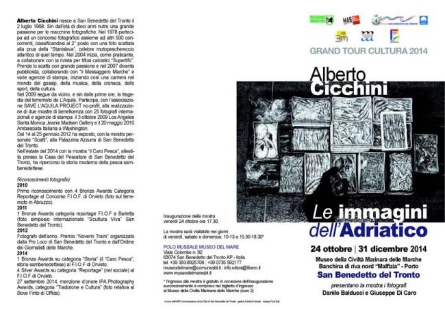 """Alberto Cicchini, """"Le Immagini dell' Adriatico"""""""