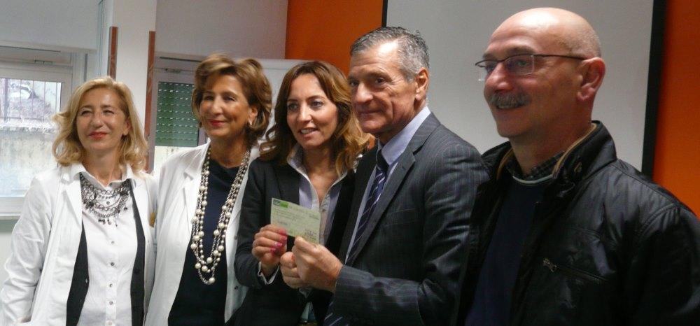 Donati 400 euro al reparto di pediatria dell'Ospedale sambenedettese