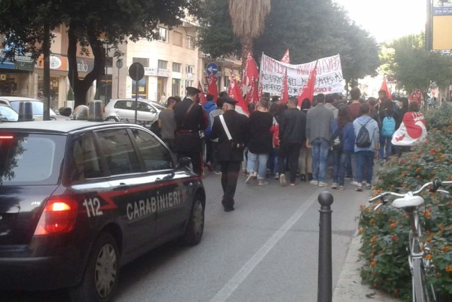 10 ott 2014, un momento della manifestazione © www.ilmascalzone.it
