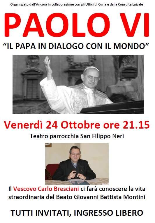 Il Vescovo Carlo Bresciani racconta il Beato Paolo VI