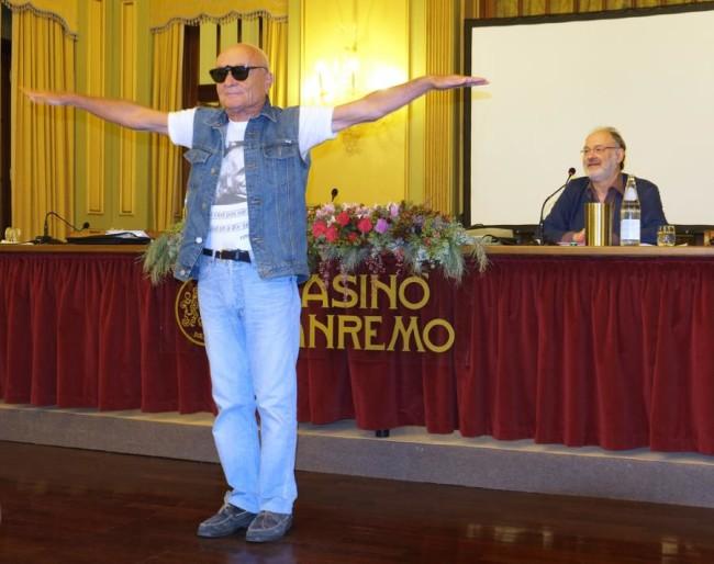Il prof. Giuseppe Gennari ospite al Premio Tenco 2014