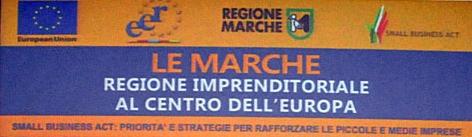 """Le Marche """"Regione Imprenditoriale al centro dell'Europa"""""""
