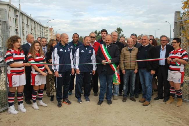 Inaugurazione del complesso per il rugby Nelson Mandela