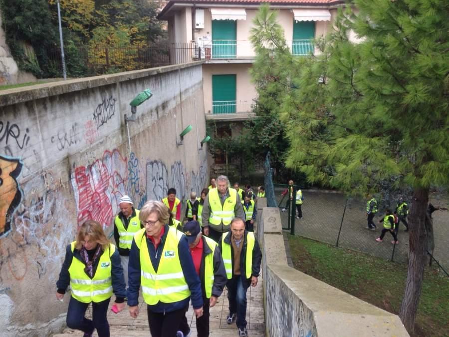 """""""Marche in Salute"""" a San Benedetto del Tronto: mantenersi in forma camminando e salendo le scale"""