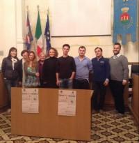Daniele Pignotti, Luca Mazzara, Luca Vagnoni e i responsabili dei vari corsi
