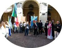 un momento della celebrazione del 4 novembre a Cupra Marittima