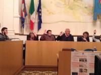 un momento del consiglio comunale di Cupra