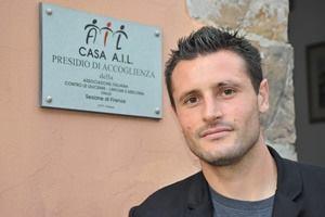 Manuel Pasqual al fianco di AIL Firenze Onlus