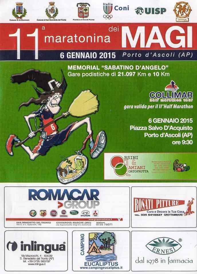 Maratonina dei Magi: al via l'11ma edizione