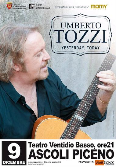 """Umberto Tozzi: """"Yesterday, Today"""" @ Teatro Ventidio Basso"""