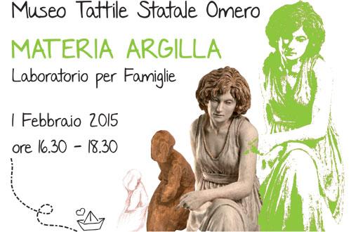 """Paolo Annibali, """"Dirà L'Argilla"""" al Museo Omero"""
