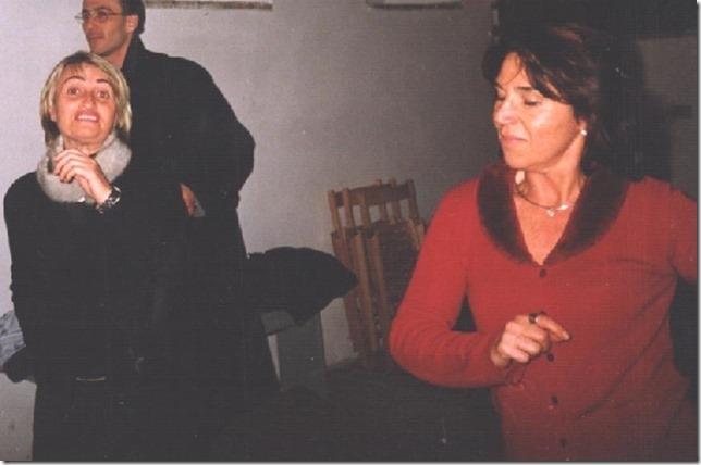 Silvana ora starai danzando, librandoti come in questo passo che ti vide gioiosa a madonna di Garufo, per il Convivio dei poeti  pastori erranti d'Europa, una serata d'arte e poesia a festeggiare l'avvento del 2000