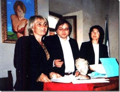 Fondazione dell'Arca dei Folli con Maria Teresa Berdini e Danilo Tomassetti