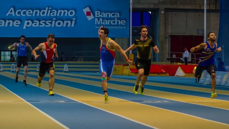 Mario Brigida, doppio record marchigiano per il velocista della Sport Atletica Fermo