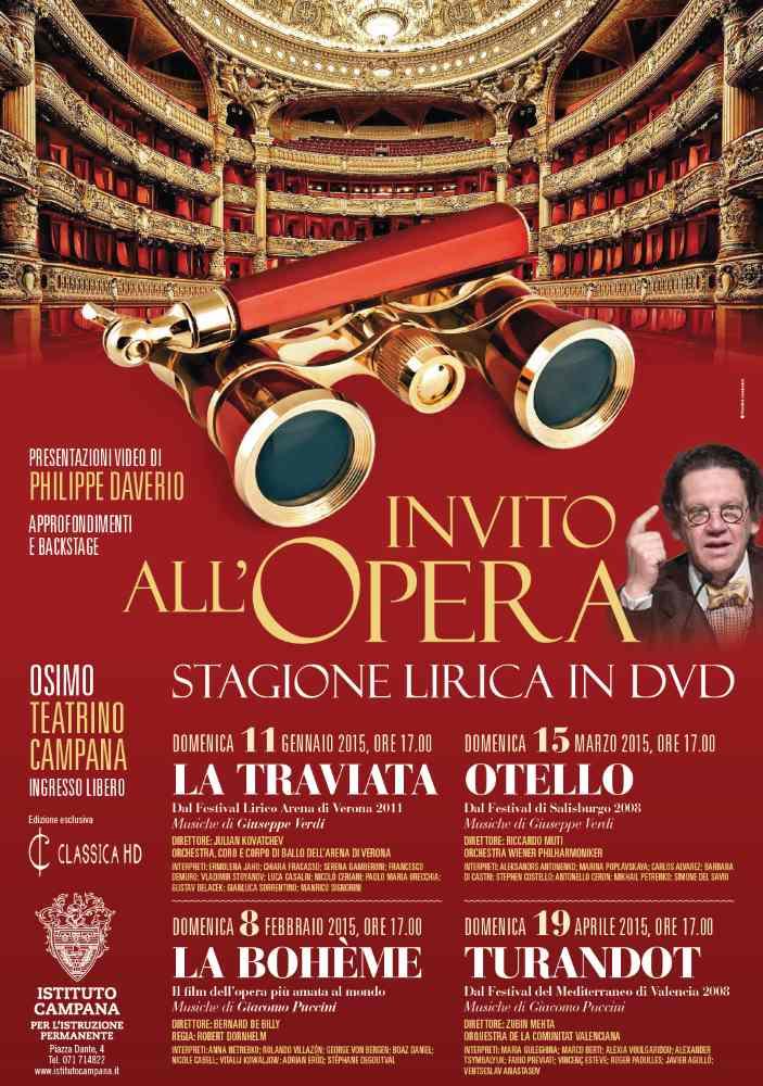 Invito all'Opera con Otello @ Teatrino Campana di Osimo