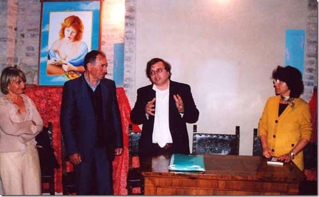 """Presentazione del libro """"Il nuovo e l'Antico tempo"""" Silvana con Danilo e nazzareno Tomassetti, Maria Teresa Berdini"""