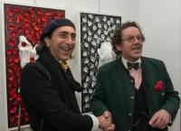 Maurizio Virgili con Philippe Daverio
