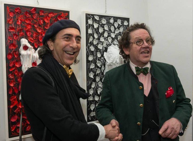 L'artista Virgili da Bologna a Londra