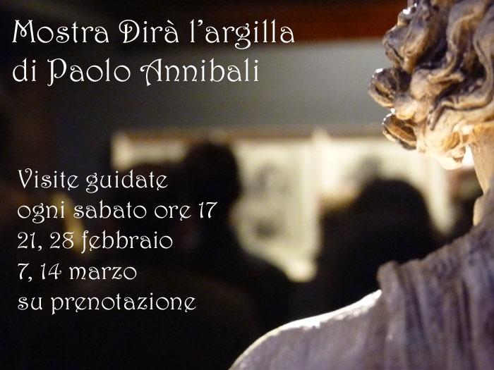 Mostra Dirà l'argilla di Paolo Annibali fino al 15 marzo 2015