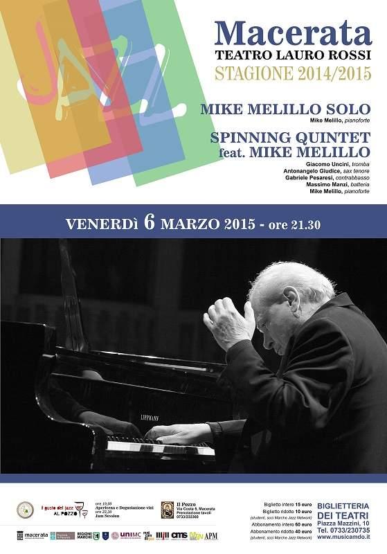 Musicamdo gioca in casa. Al Teatro Lauro Rossi arriva il maestro Mike Melillo