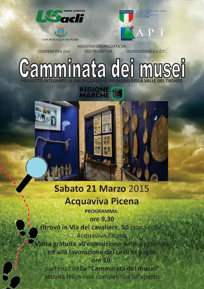 Camminata dei musei ad Acquaviva Picena