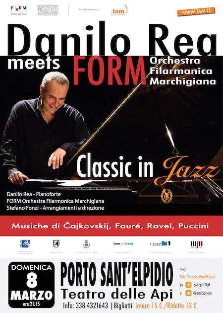 Tam, Tutta un'Altra Musica con Danilo Rea @ Teatro delle Api