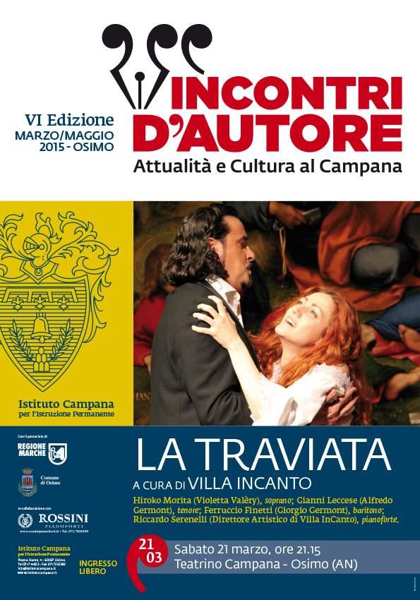 """Incontri d'Autore, """"La Traviata"""" @ Campana"""