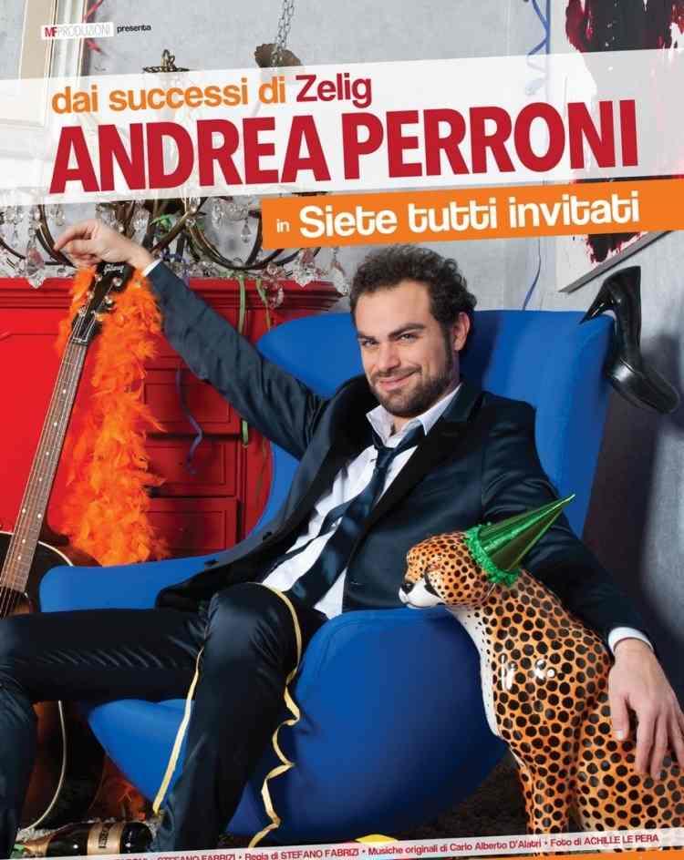"""Andrea Perroni, """"Siete tutti invitati"""" al Serpente Aureo"""