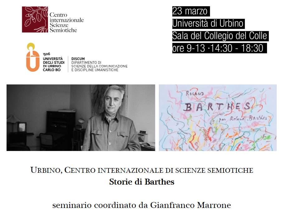 Storie di Barthes all'UniUrb
