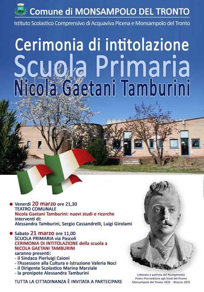 Nicola Gaetani Tamburini: nuovi studi e ricerche