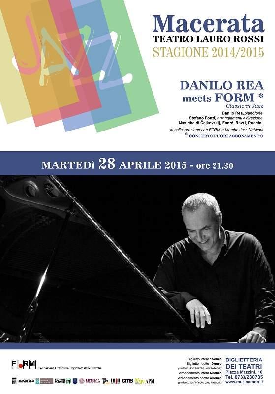 Rea e la Form chiudono alla grande la stagione jazz di Musicamdo al Lauro Rossi di Macerata