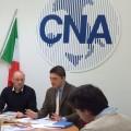 Cna - Passaretti e Balloni in conferenza stampa