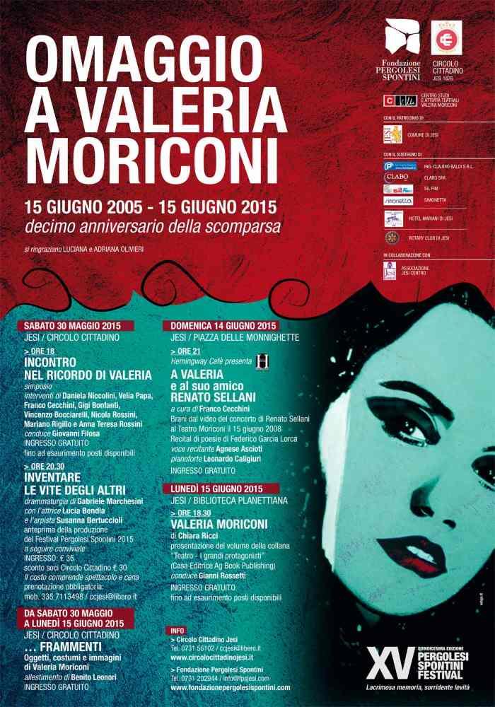 Omaggio a Valeria Moriconi