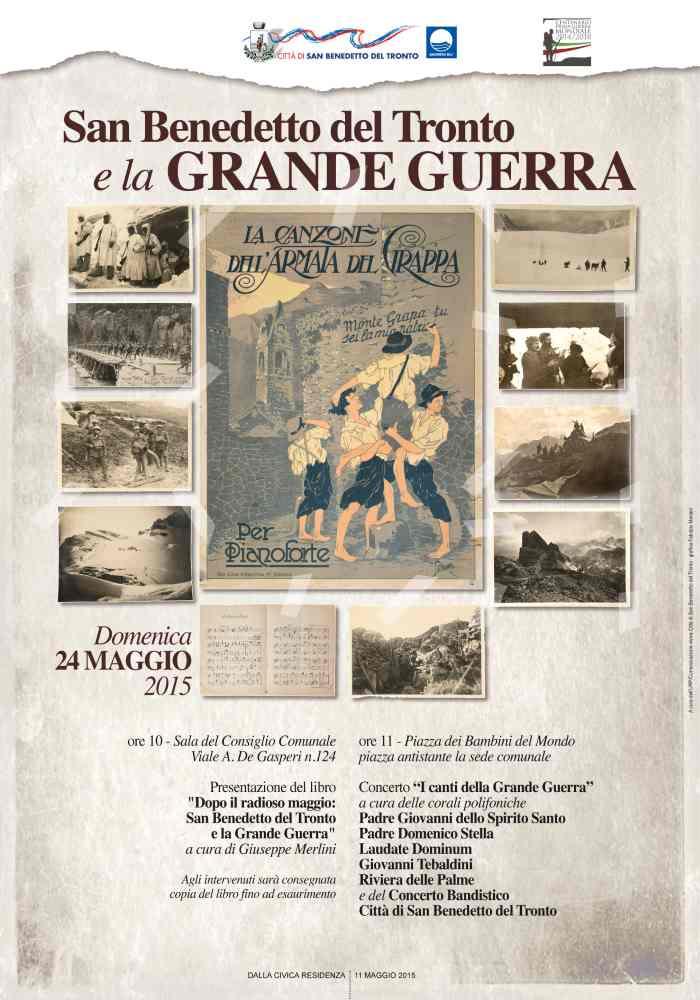 San Benedetto e la grande guerra