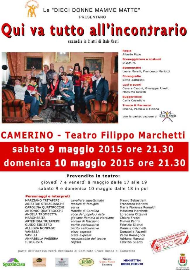 """DDMM, """"Qui va tutto all'incontrario"""" al Teatro Filippo Marchetti"""