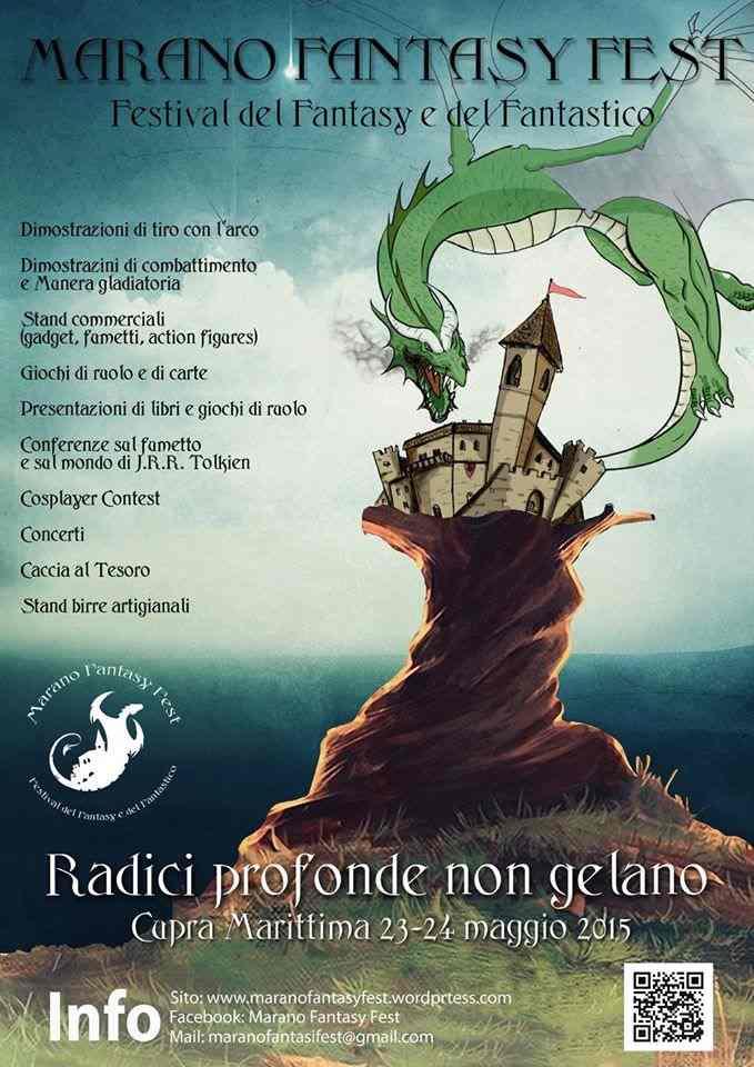 A Cupra Marittima si apre la I edizione del Marano Fantasy Fest (rimandato causa maltempo)