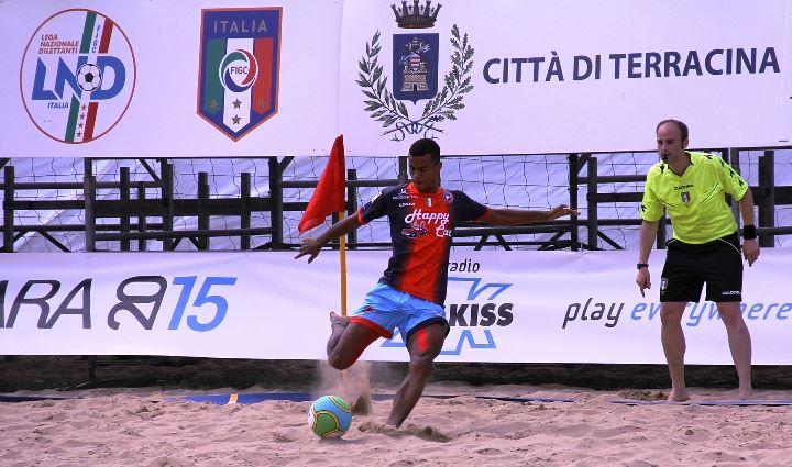 Beach soccer, Happy Car Samb – Anxur 5-3