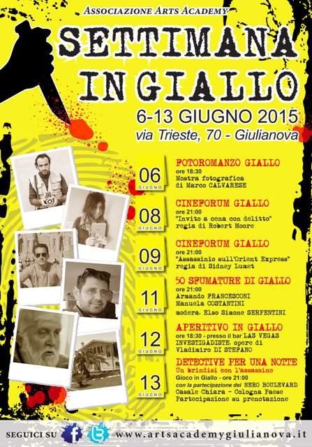 Settimana in Giallo a Giulianova