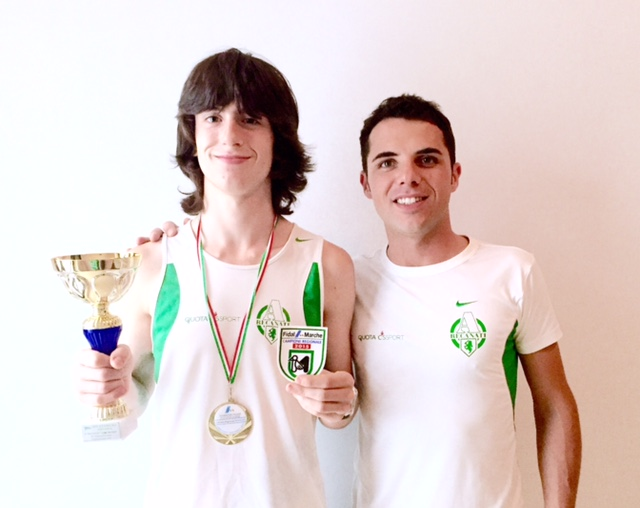 Atletica, il recanatese Michele Diletti è campione regionale