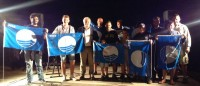 la consegna della Bandiera Blu agli stabilimenti balneari