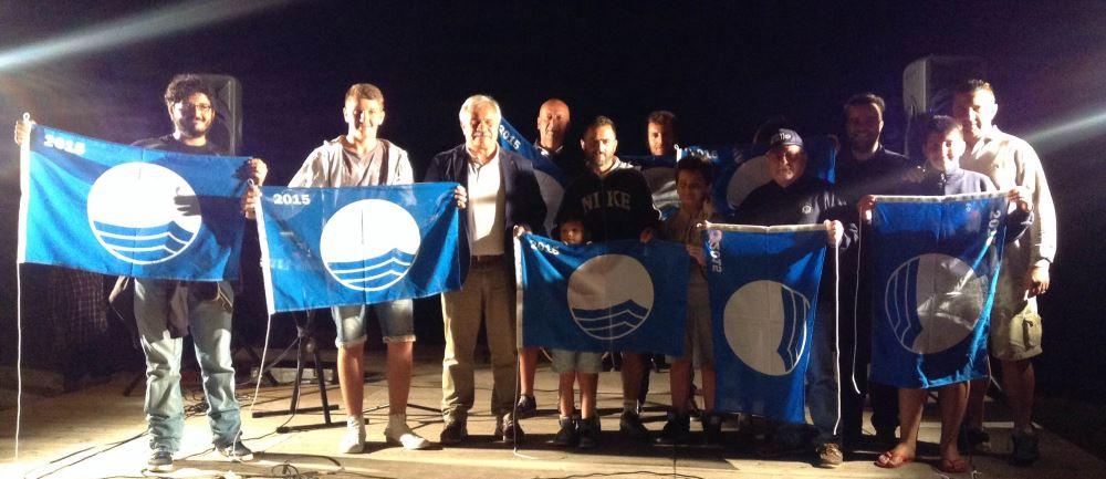 Consegnata la Bandiera Blu 2015 agli stabilimenti balneari di Cupra