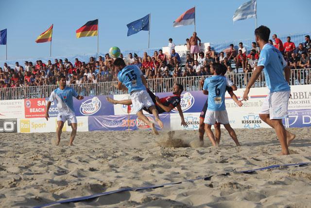 Beach Soccer, Anxur Trenza – Happy Car Samb 4-6 det (0-1, 3-2, 1-1,0-2)