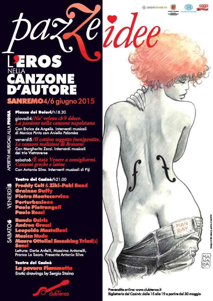 Pazze idee, l'eros nella canzone d'autore @ Sanremo