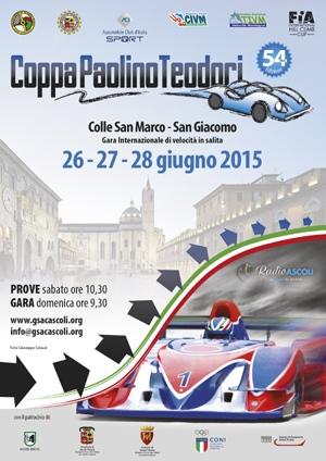 Automobilismo, si avvicina la 54ma Coppa Paolino Teodori