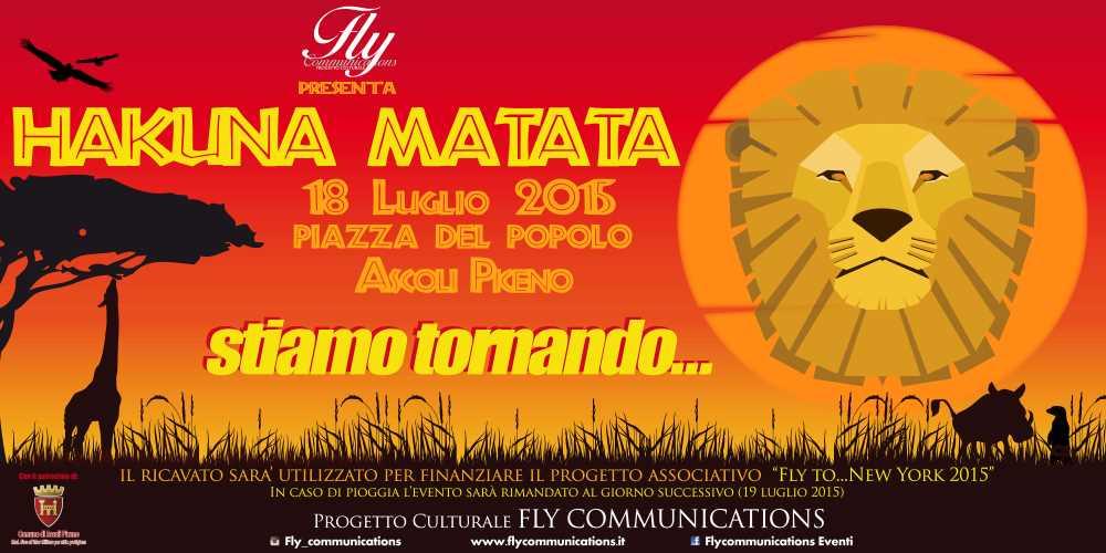 Hakuna Matata della Fly Communications, il musical-evento dell'estate ascolana