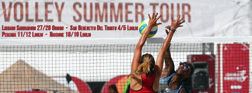Master Group Sport Lega Volley Summer Tour alla Beach Arena