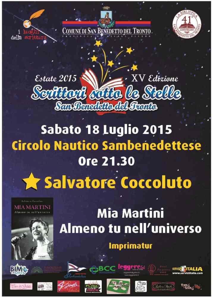 """Salvatore Coccoluto,  """"Mia Martini. Almeno tu nell'universo"""""""