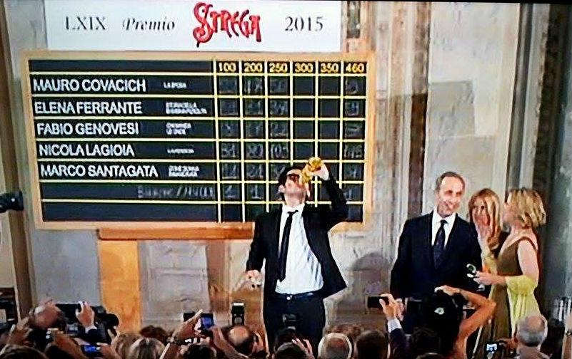 """""""La ferocia"""" di Nicola Lagioia vince il Premio Strega 2015"""